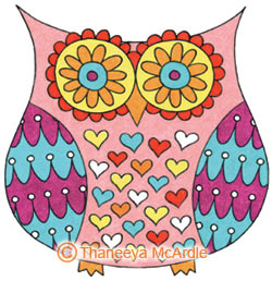 How To Draw An Owl Learn To Draw A Cute Colorful Owl In This Easy Step By Step Drawing Lesson Art Is Fun