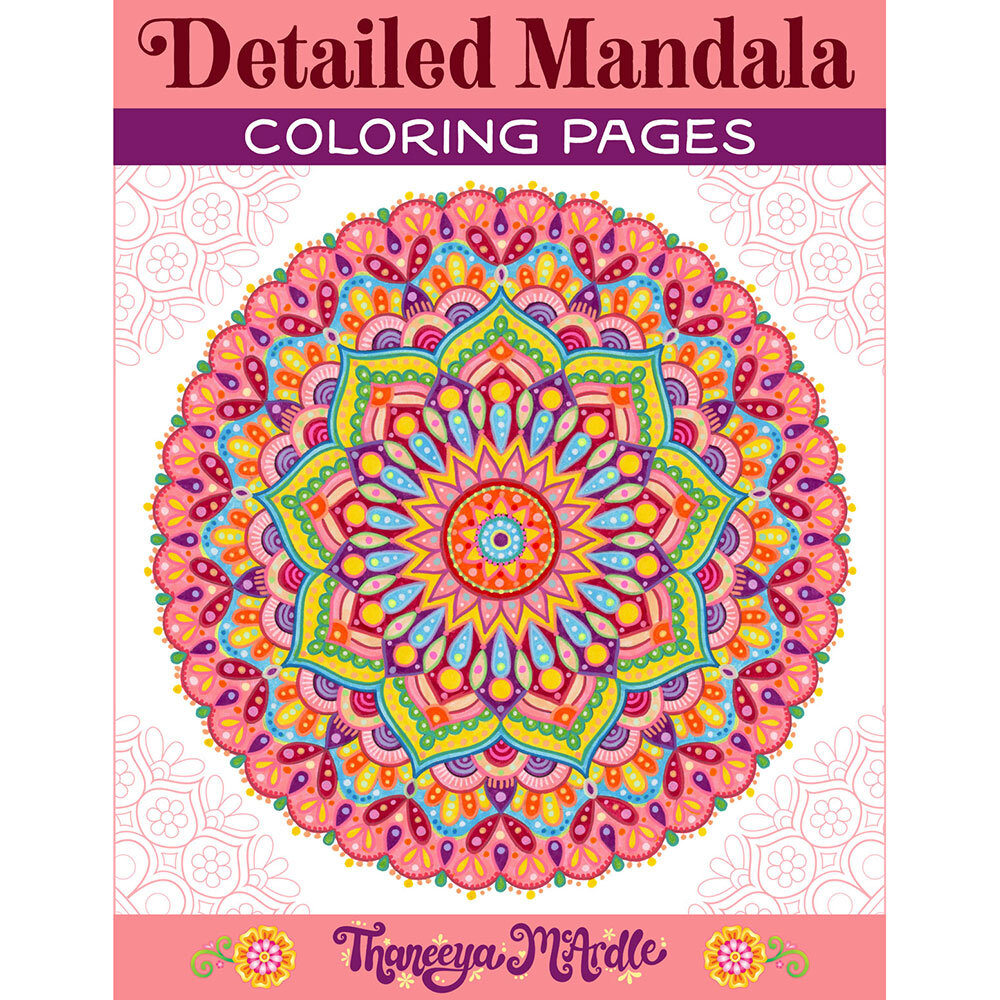 Detailed Mandala Coloring Pages Fun Printable Coloring Pages To Download Print And Color Art Is Fun