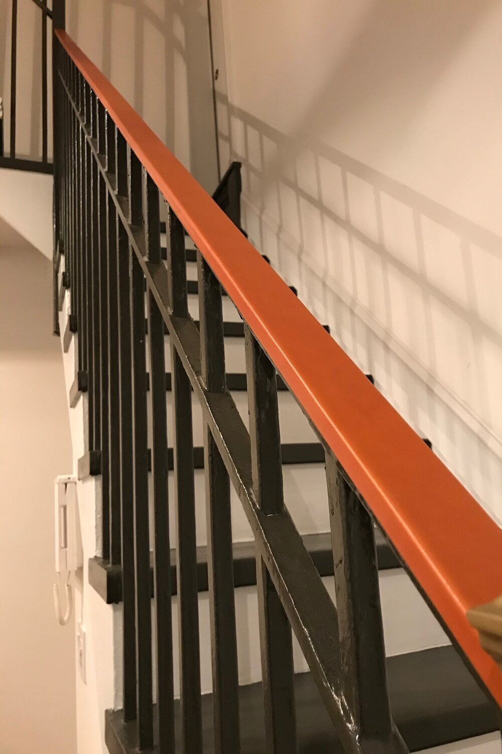 Custom Handrails Made With Leather — Jay Teske Leather Co | Bannister Rails For Stairs | Pipe | Build Stair | Deck | Outdoor | 5 Step