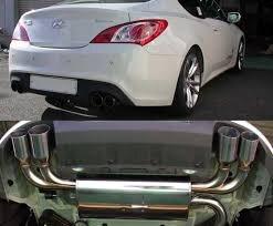 hks legamax premium axle back exhaust 10 11 hyundai genesis coupe 2 0t 3 8l kenji garage