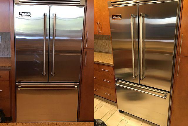 stainless steel appliance scratch