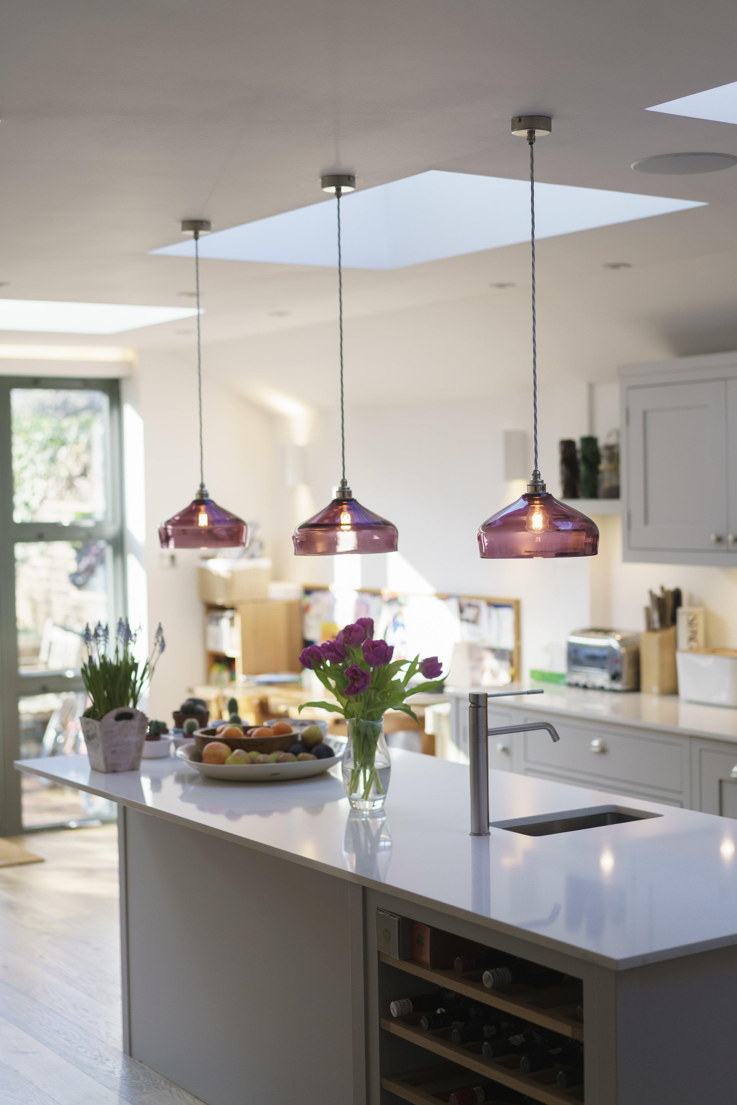 kitchen island lighting style