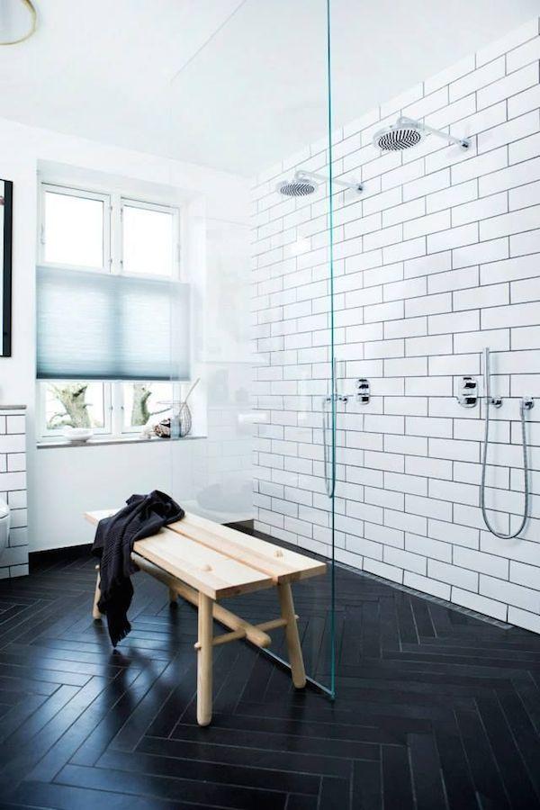 contemporary bathroom tile trends