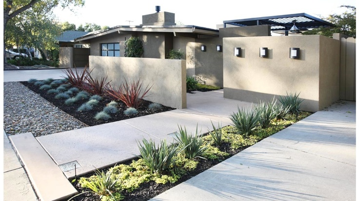 50 Modern Front Yard Designs and Ideas — RenoGuide ... on Front Yard Renovation Ideas id=36701