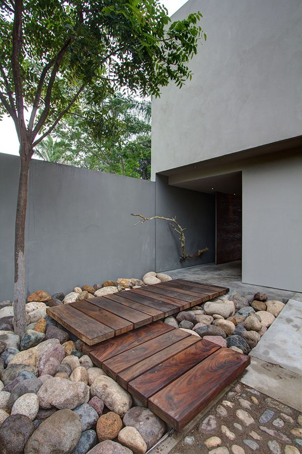 50 Modern Front Yard Designs and Ideas — RenoGuide ... on Concrete Front Yard Ideas id=47758