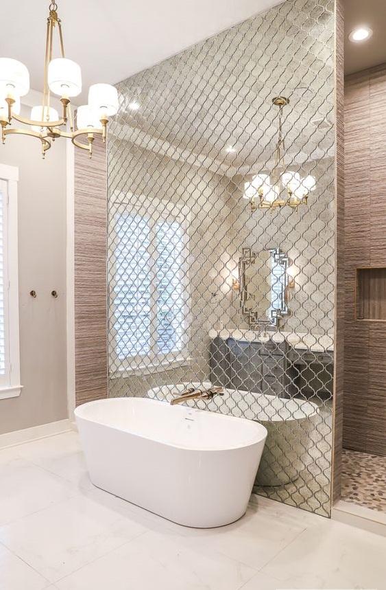 50 Beautiful Bathroom Ideas and Designs — RenoGuide ... on Beautiful Bathroom Ideas  id=57345