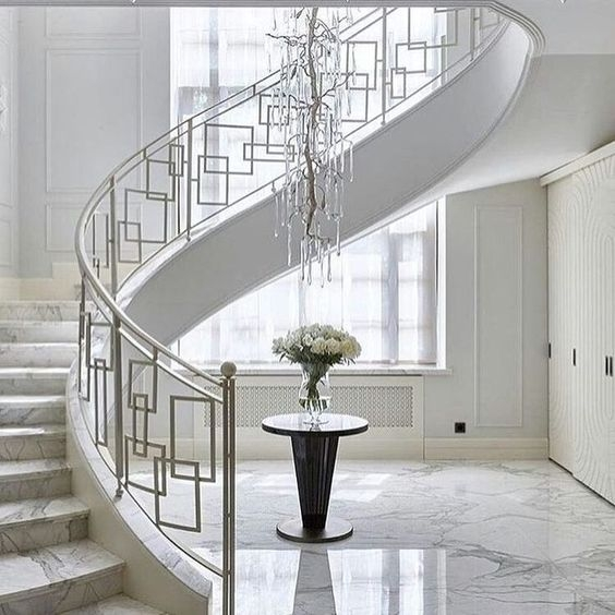 50 Amazing And Modern Staircase Ideas And Designs — Renoguide | Staircase Designs With Steel And Glass | Affordable | Outdoor | Railing | Spiral | Staircase Design Modern House