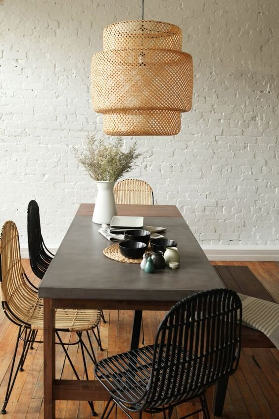 stunning dining table lighting ideas