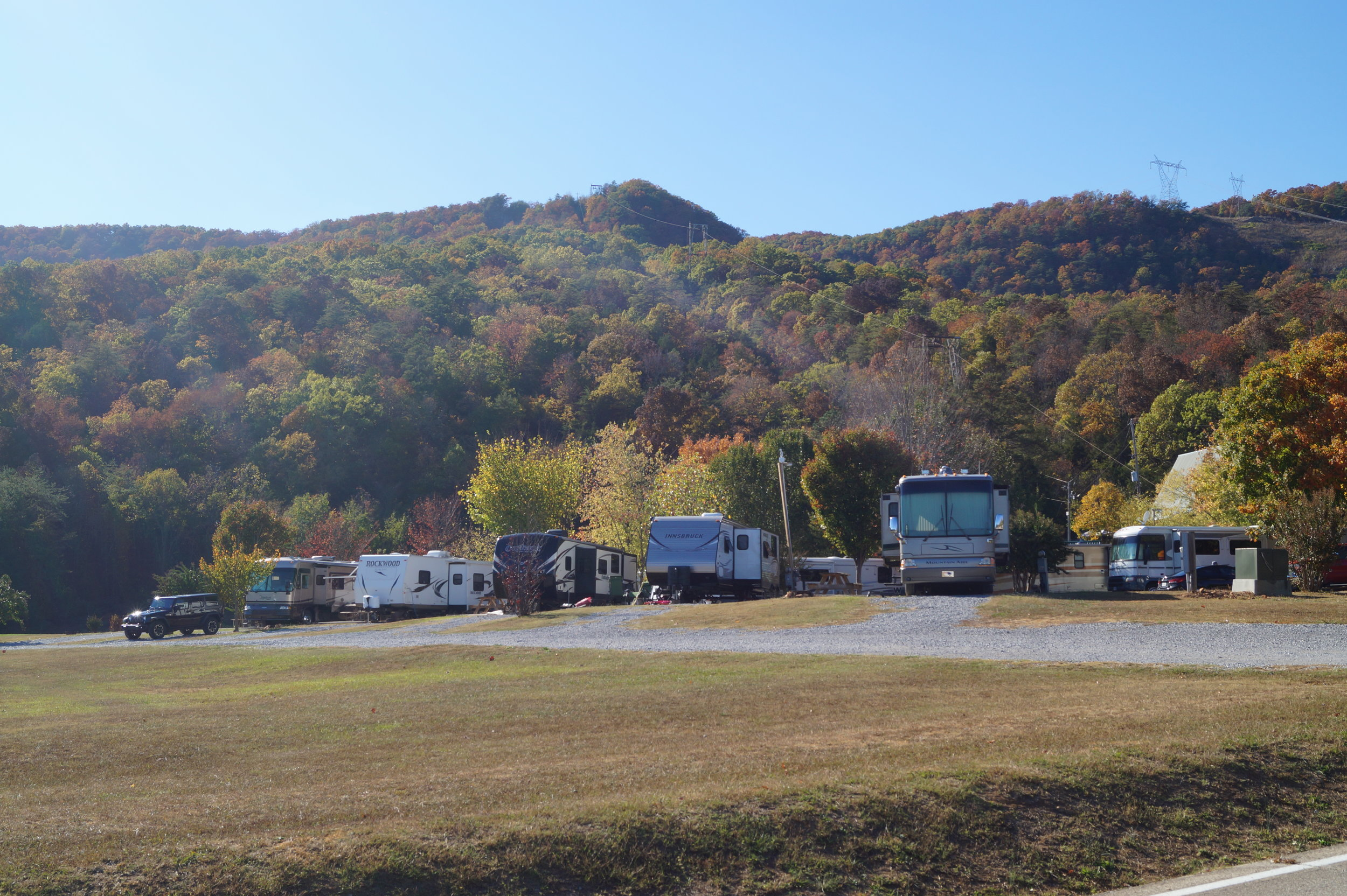 Get directions, reviews and information for raccoon mountain campground in chattanooga, tn. Rvs Camp Sites Raccoon Mountain Caverns Campground