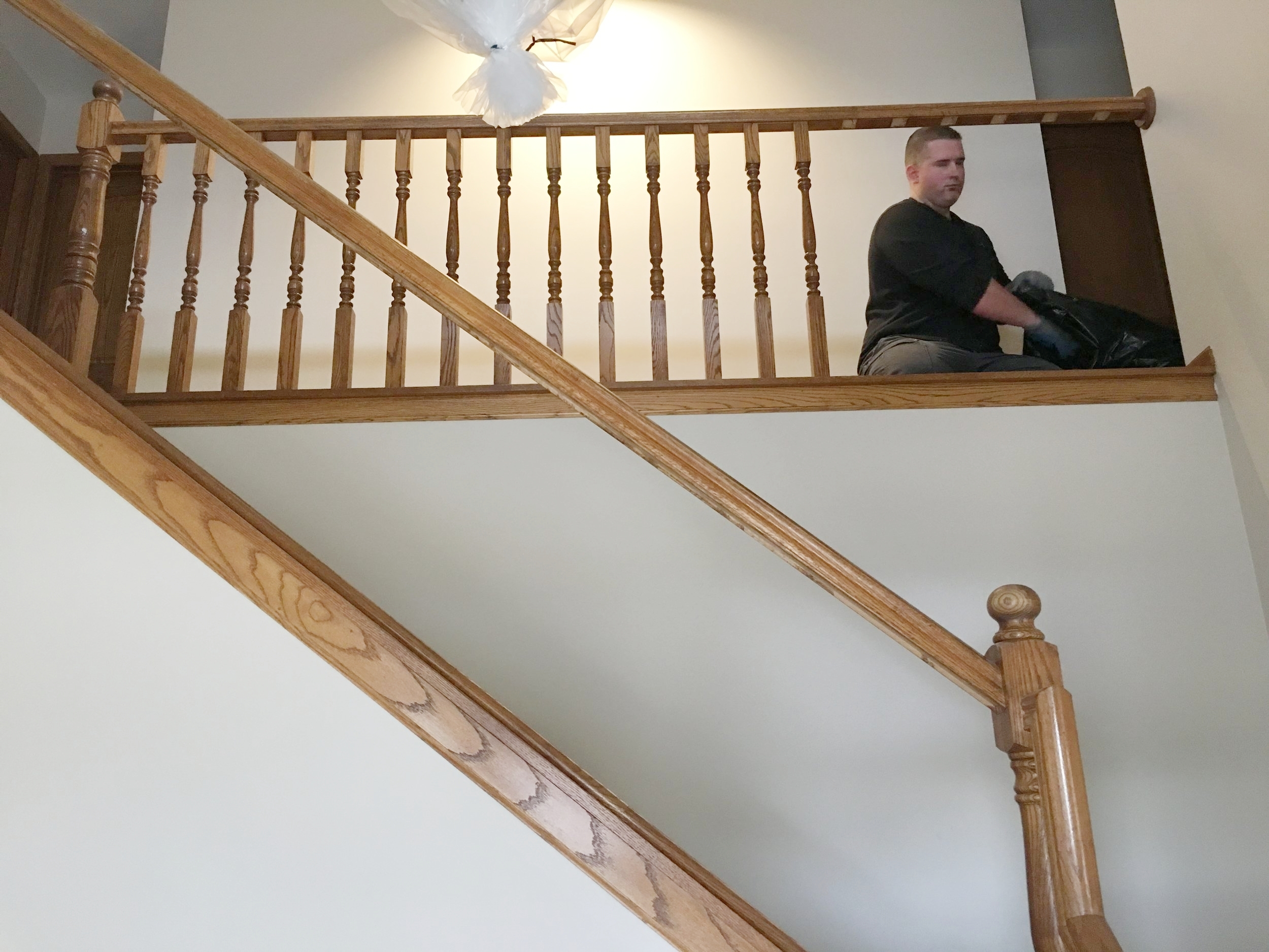 How To Give Your Spindles A Contemporary Facelift — Trubuild | Replacing Wood Spindles With Metal | Stair Spindles | Iron Stair Balusters | Stair Parts | Stair Railing | Staircase