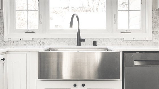 black or stainless for your faucet