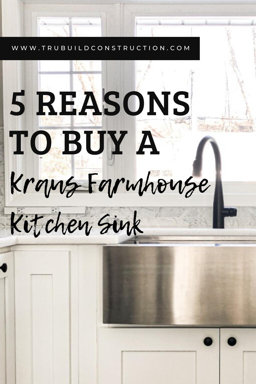 buy kraus farmhouse kitchen sinks