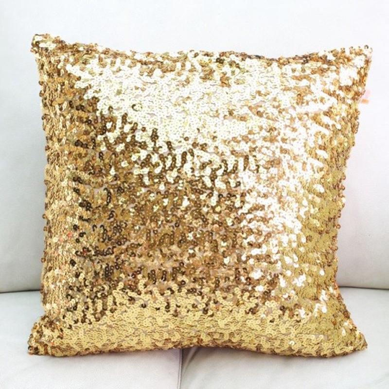 custom sequin cushion cover sparklepony sequin table linens decor