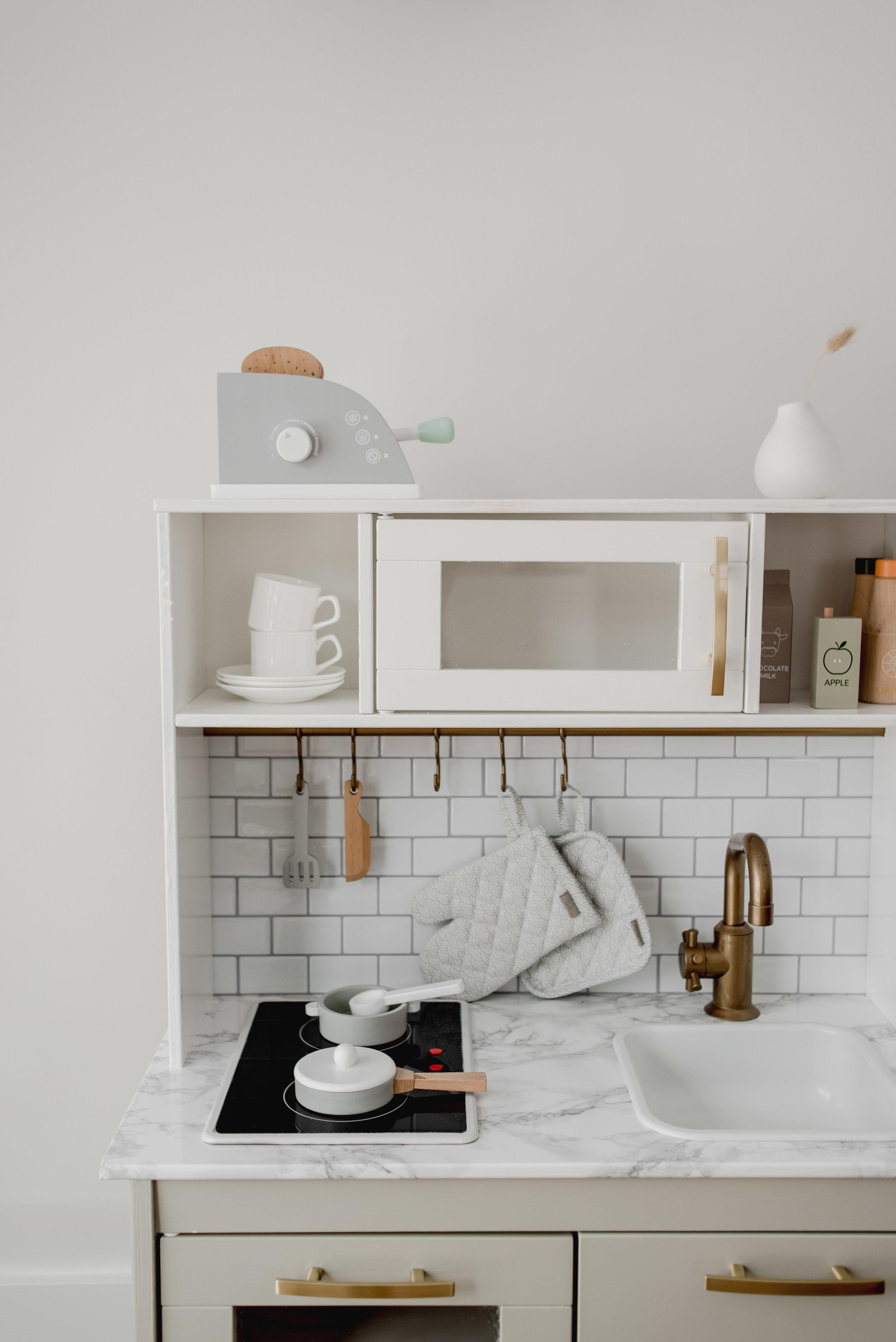 Scandinavian Modern Ikea Play Kitchen Hack Miss Jess Craven Adventure Travel Blog