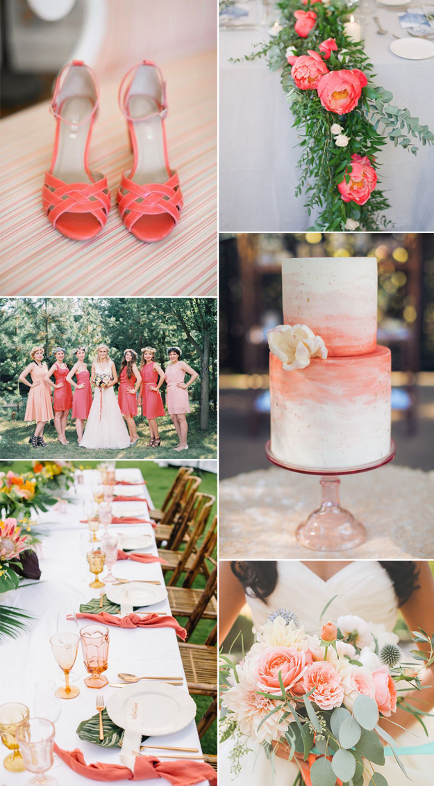 Color Inspiration: Living Coral, Pantone Color of the Year