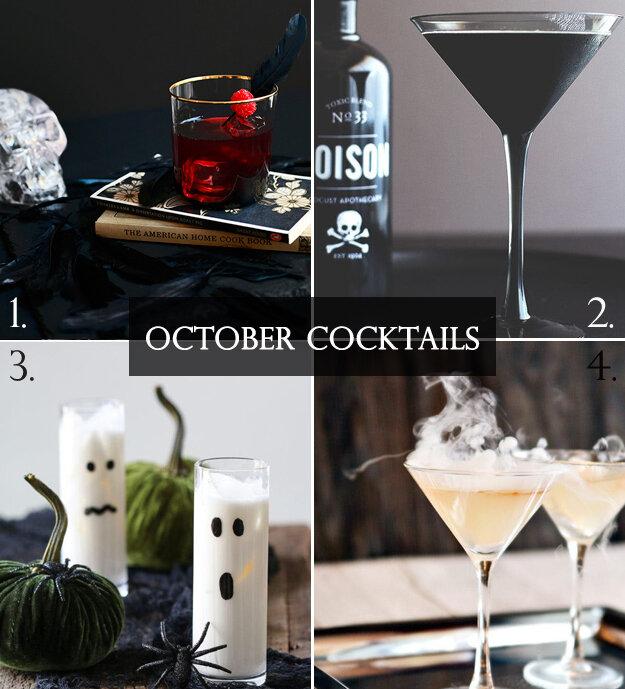 Spooky Spirits: October Cocktails