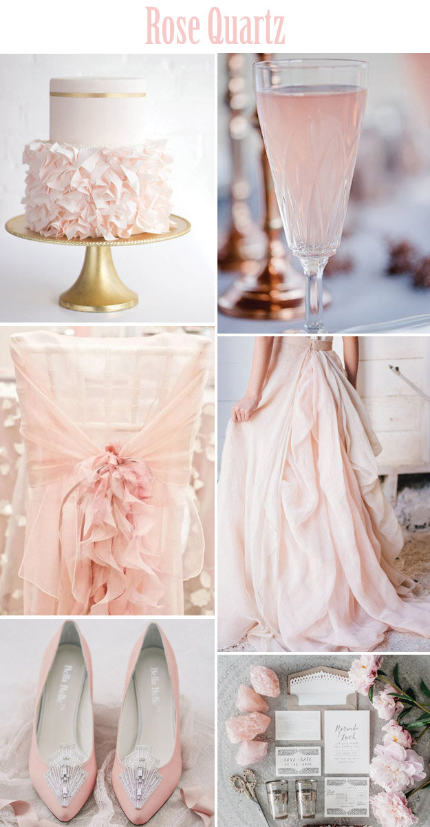 Rose Quartz & Serenity - Pantone's Colors of the Year