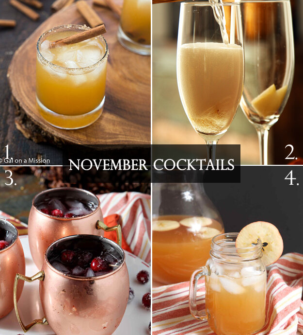 Truly Tasty Thanksgiving Cocktails