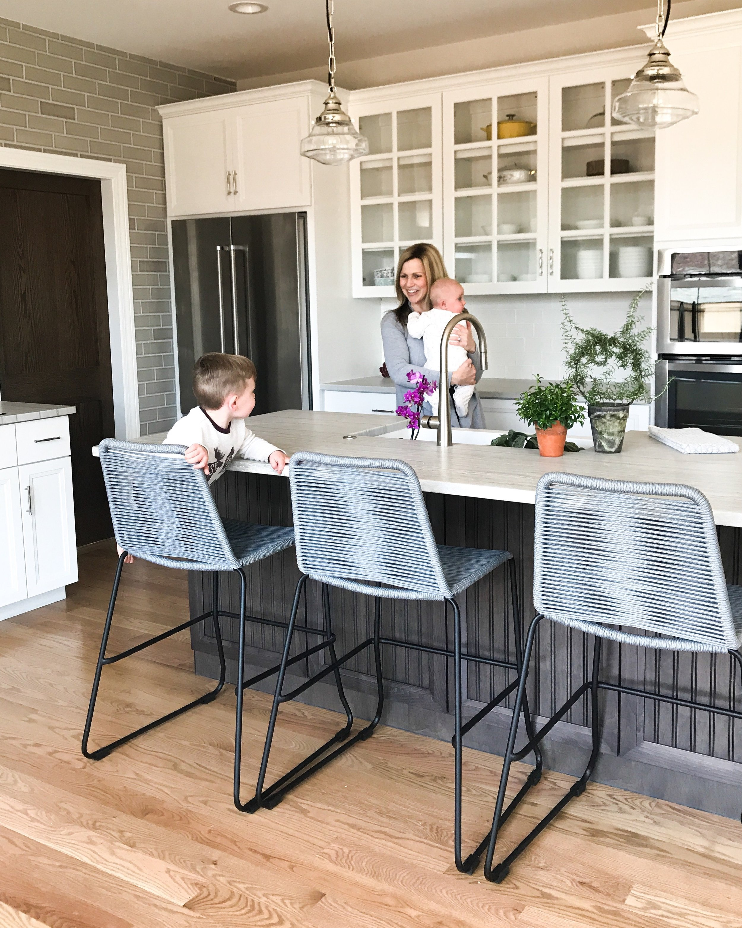 The Best Bar And Counter Stools For Your Kitchen Island First Thyme Mom