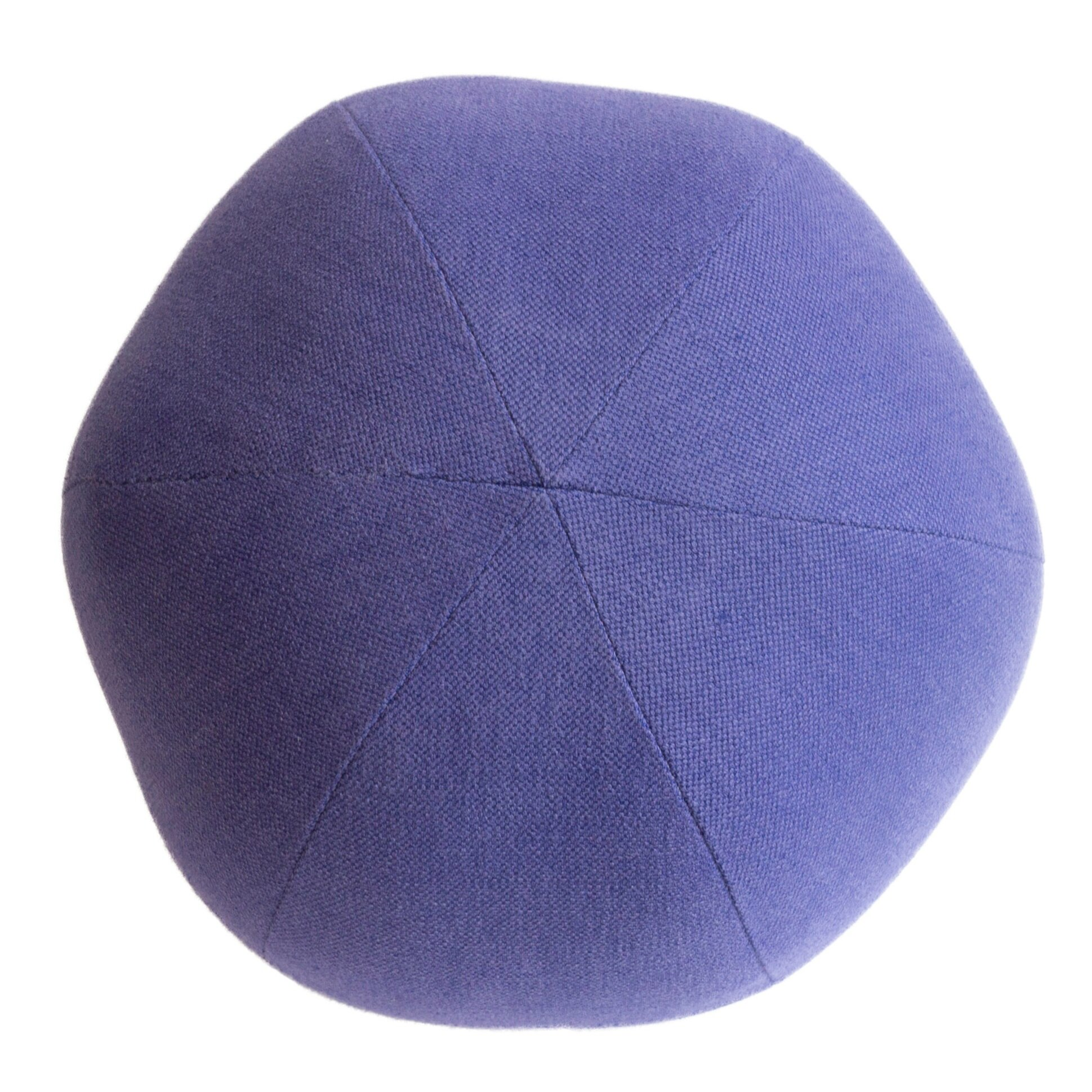 purple ball pillow the tailored home