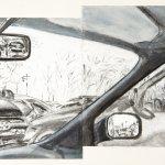 Car Windows Joshua Rosenblattgalleries Art Work Drawings