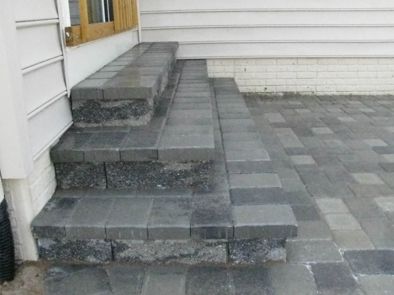paver step designs maryland decking decks patios and fencing