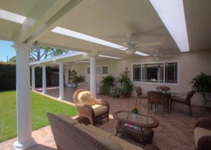 four seasons insulated roofs amazing