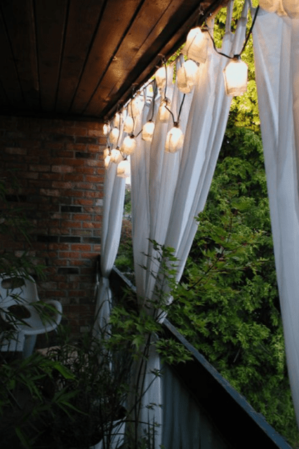 Cool Apartment Balcony Lighting Ideas Anns Liee
