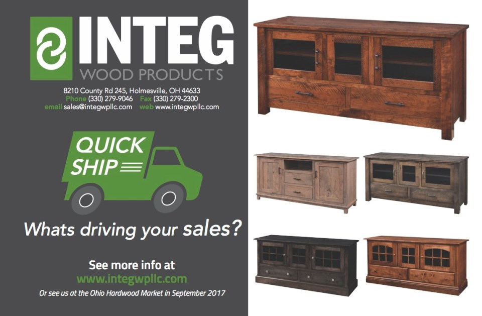 INTEG Wood Products, LLC - Quality Furniture, Made in the USA ...