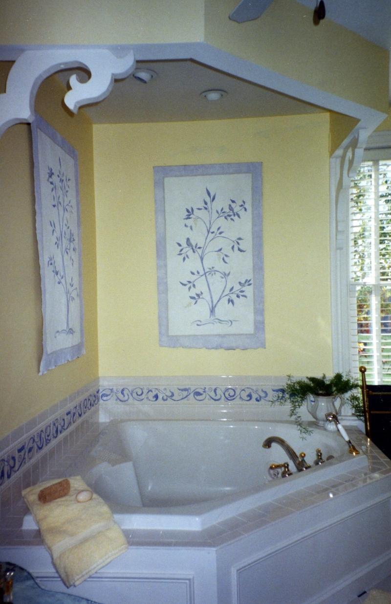 tile murals murals calligraphy and