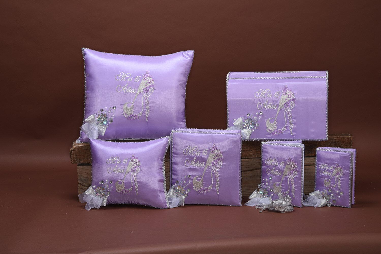 custom quinceanera pillows acc178 danielly s boutique