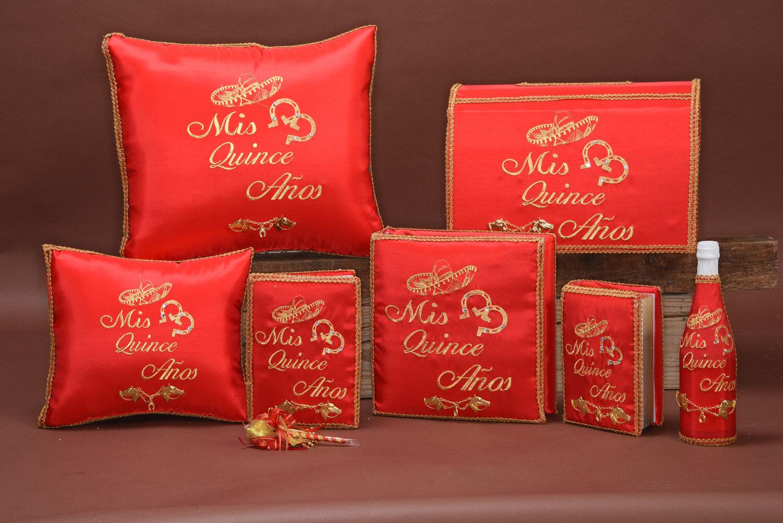 custom quinceanera pillows acc179 danielly s boutique