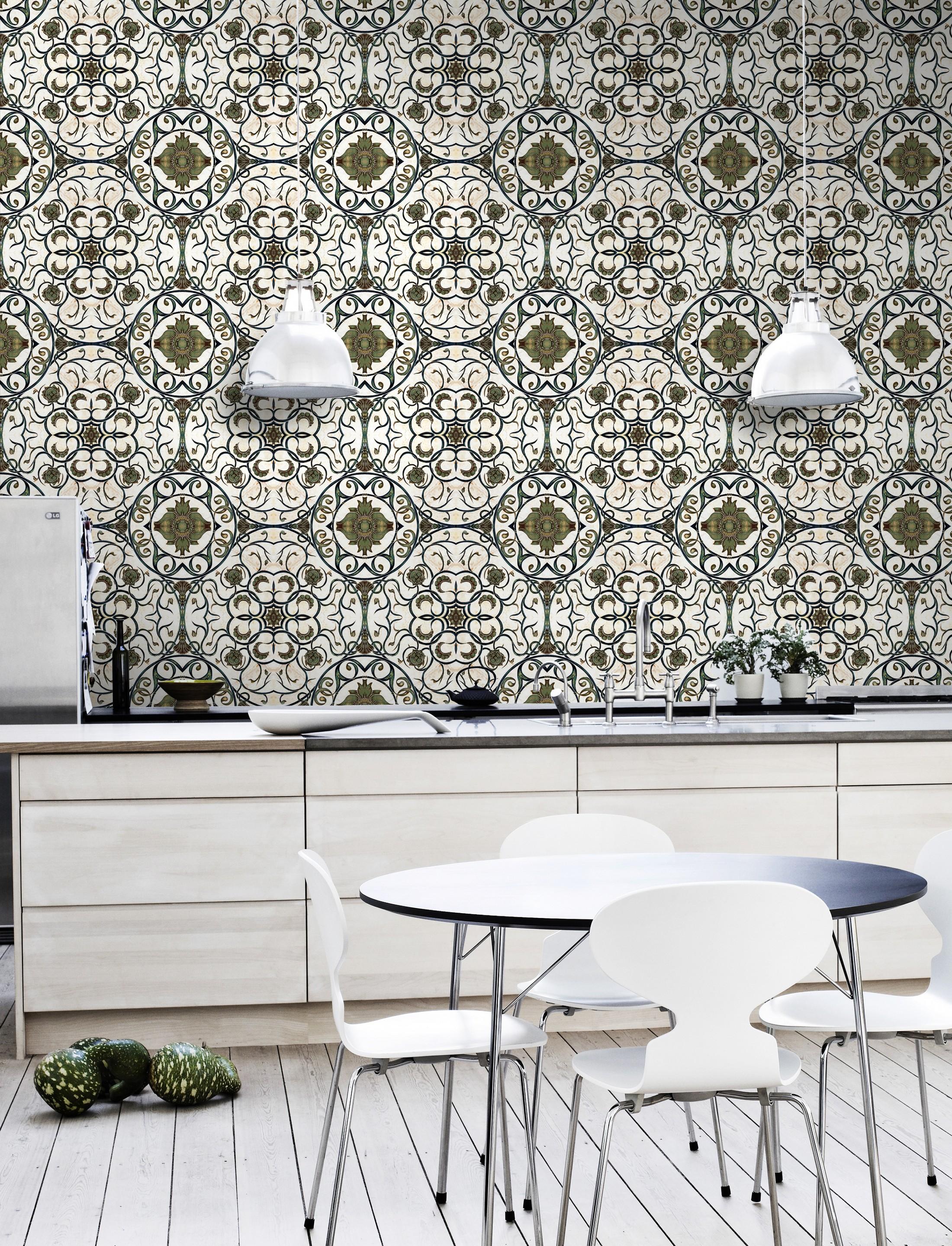 organic tile mind the gap tin design