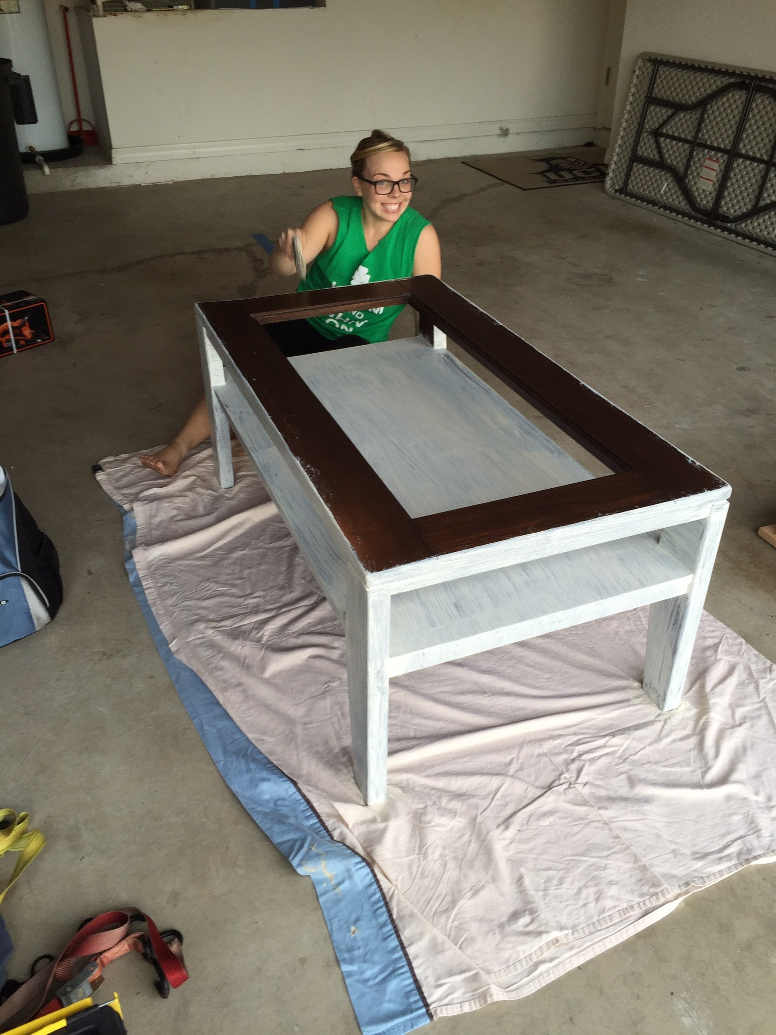 diy rustic coffee table makeover s t