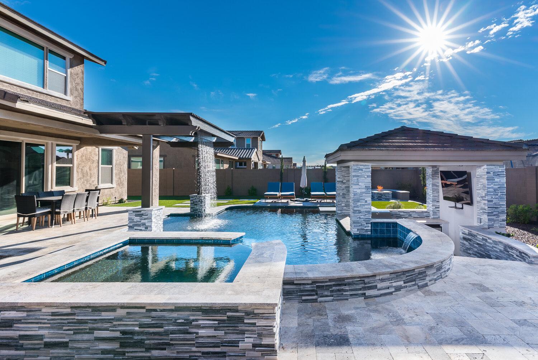 presidential pools spas patio of arizona