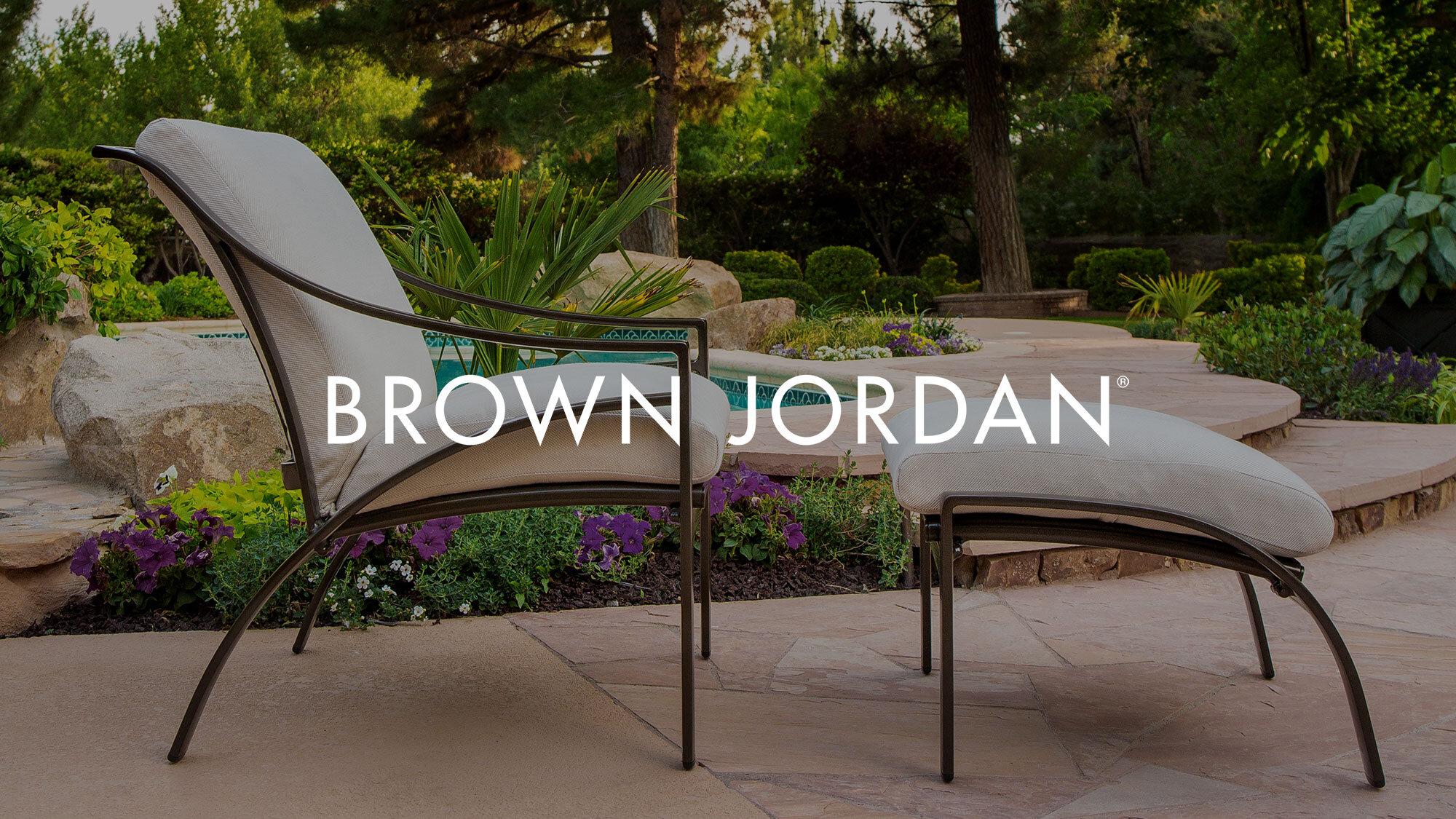 brown jordan patio world