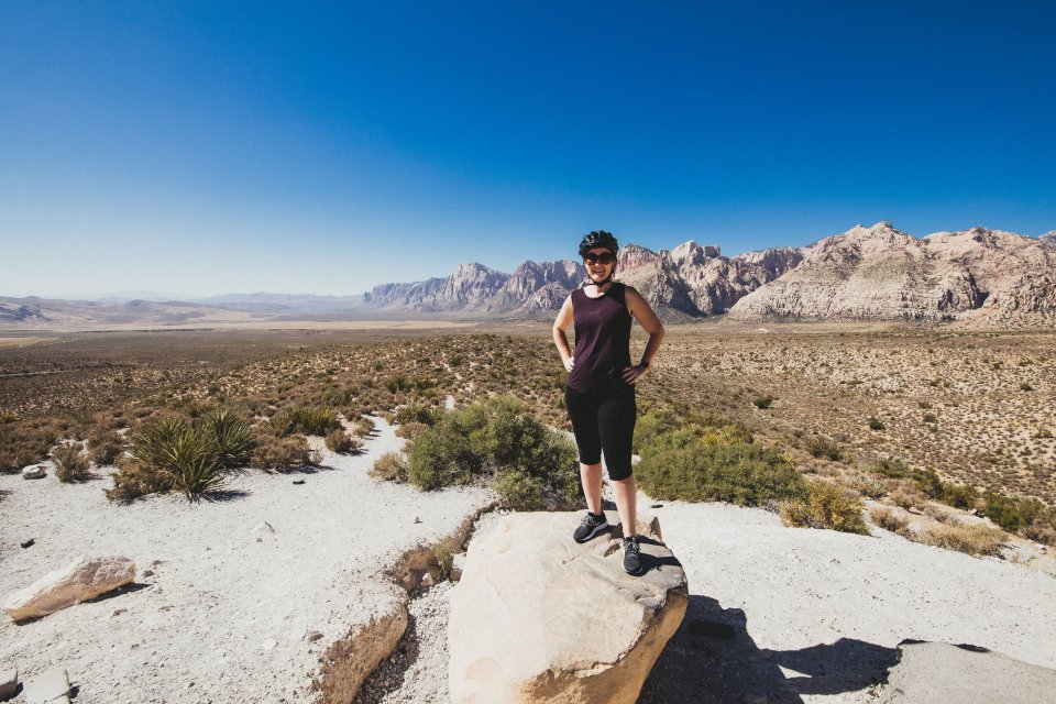 Me in Red Rock Canyon
