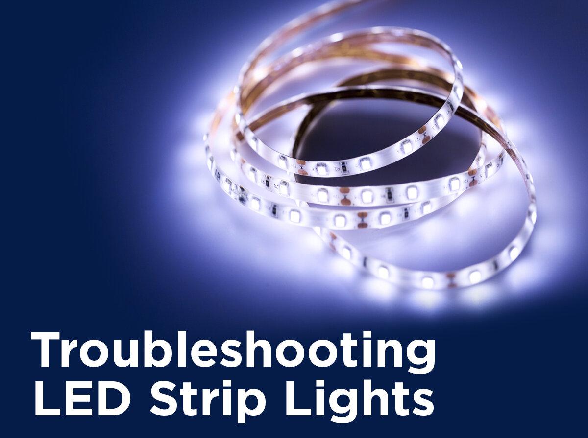 troubleshooting led strip lights