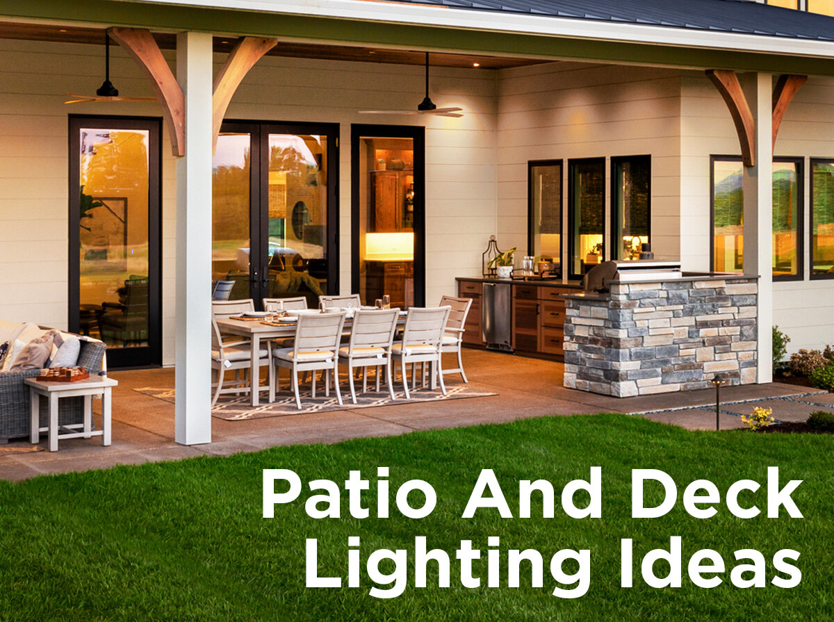 patio and deck lighting ideas
