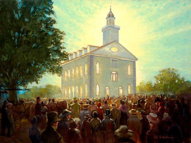 Kirtland Temple — Glen Hopkinson Fine Art