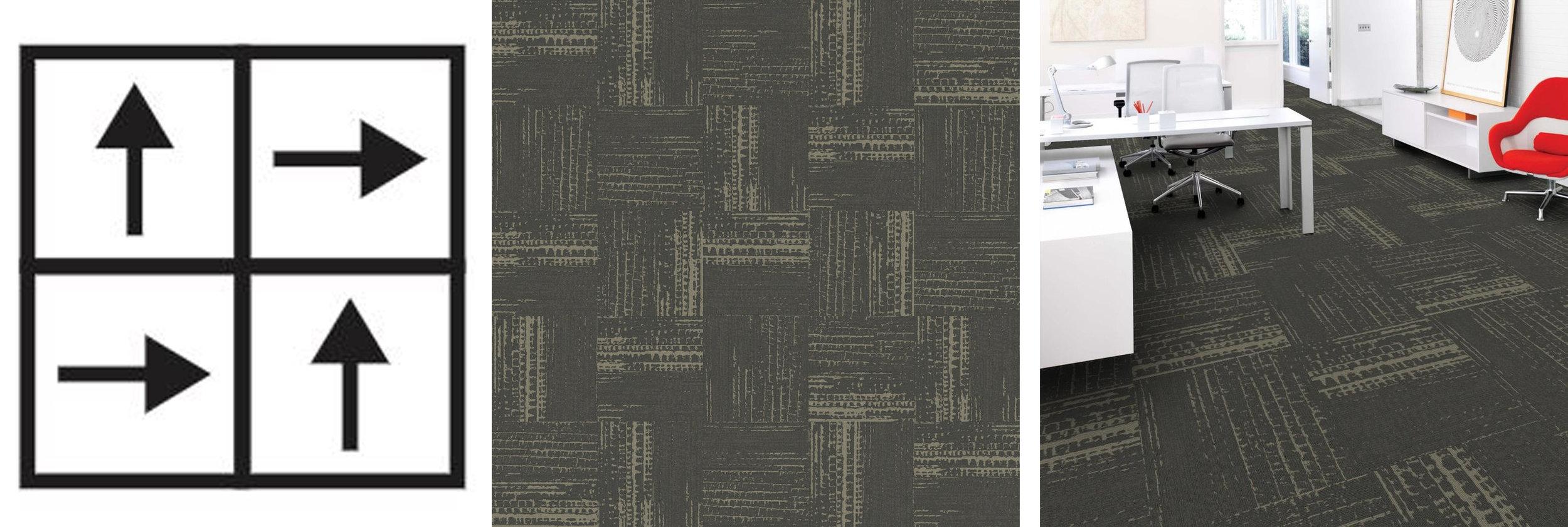 square carpet tile installation methods