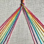 Pride Bracelets Free Rainbow Friendship Bracelets Tutorial Two Of Wands