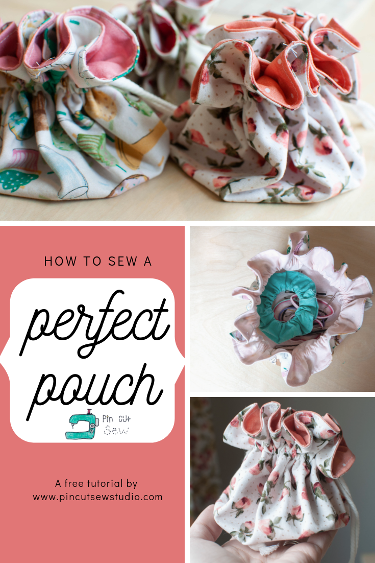 Little Drawstring Pouch - Easy Sewing Tutorial
