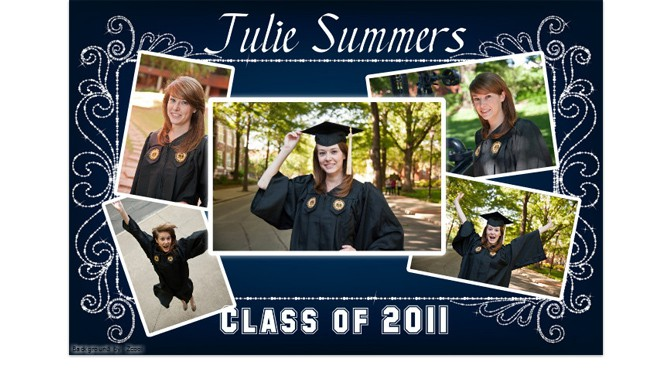 gift your grad a customized poster