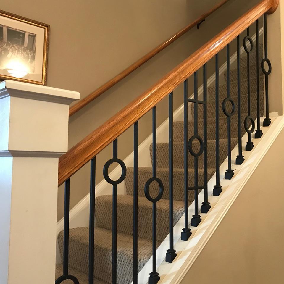 Master Fabrication — Wrought Iron Staircase Design Center | Iron And Wood Railing | Rod Iron | Interior | Deck | Custom | Horizontal