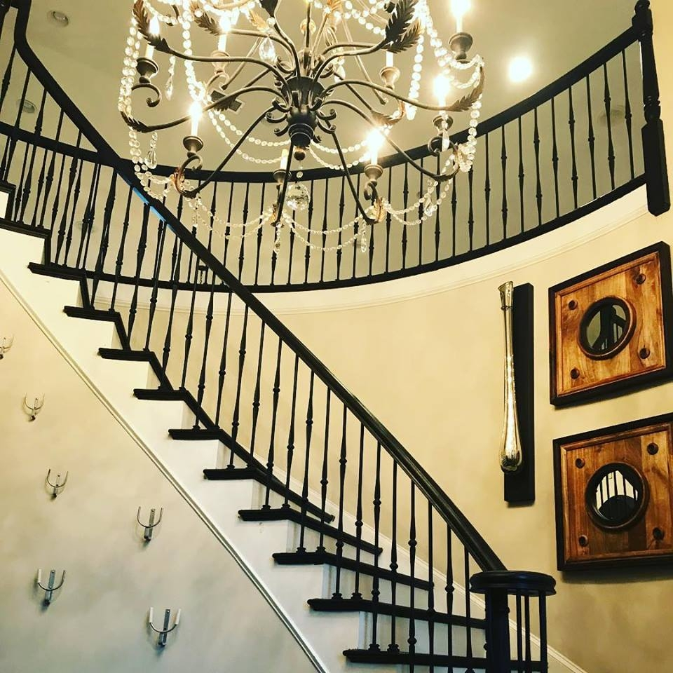 Master Fabrication — Wrought Iron Staircase Design Center | Interior Iron Stair Railing | Minimalist Simple Stair | Fancy | Staircase | Residential | Stair Outside