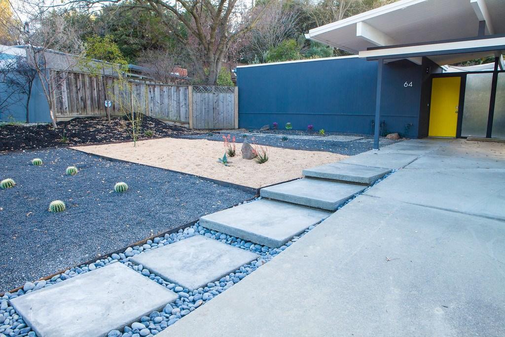 How To Make Floating Concrete Steps — Mid Century Modern Interior | Floating Concrete Steps Designs | Exterior | Landscape | House | Sidewalk | Cement