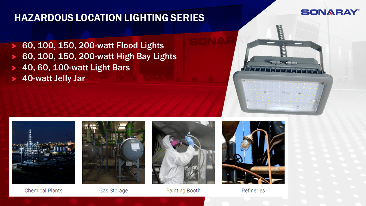 commercial industrial led lighting