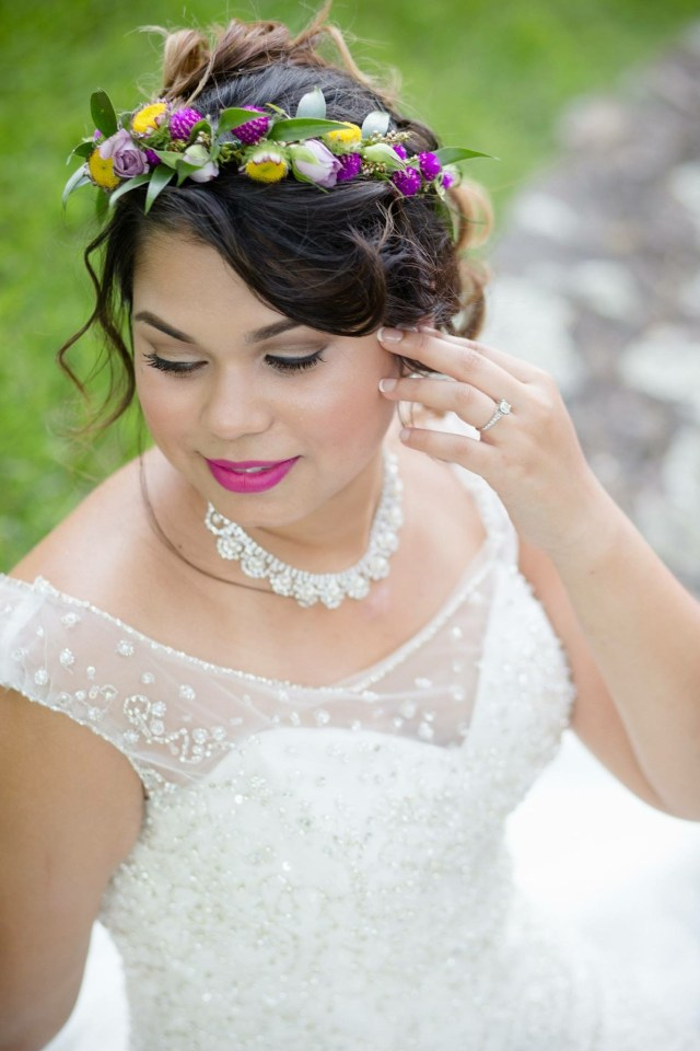 bridal makeup in little rock and central arkansas — blue