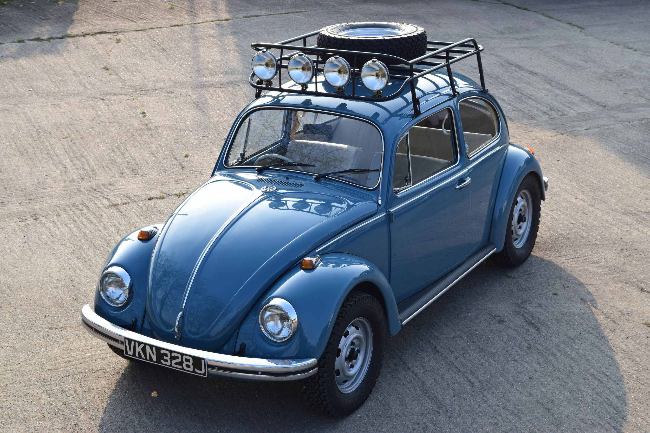 vw beetle baja roof rack lifes adventure overland
